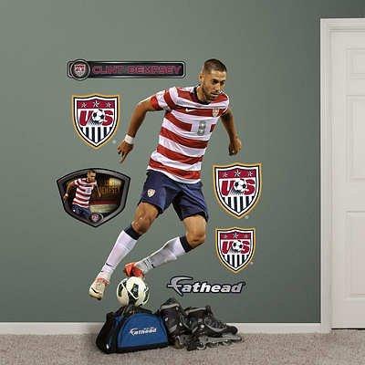 USA Soccer Clint Dempsey Wall Decal Sticker