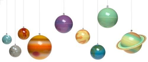 Glowing planets