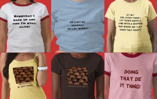 slogans on t-shirts