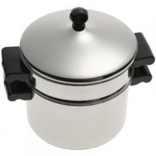 3-Quart Saucepot and Steamer