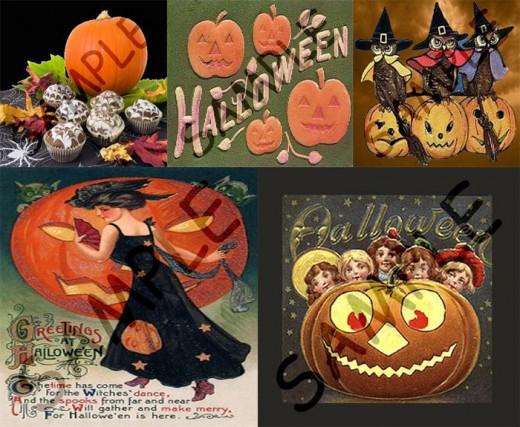 Pumpkins For Halloween Coffee Gift Baskets