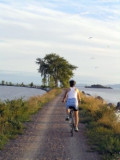 Biking Lake Champlain