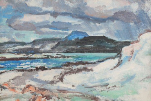 Iona, painting by Samuel Peploe, 1933