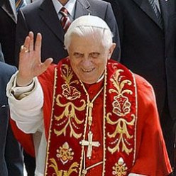Pope Benedict XVI tribute gifts