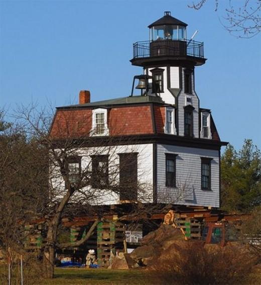 Colchester Reef Lighthouse, Shelburne Museum, Shelburne, Vermont