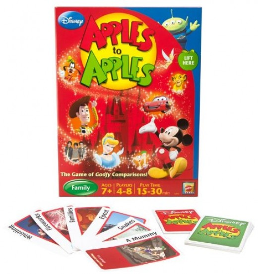 Disney Apples To Apples Game