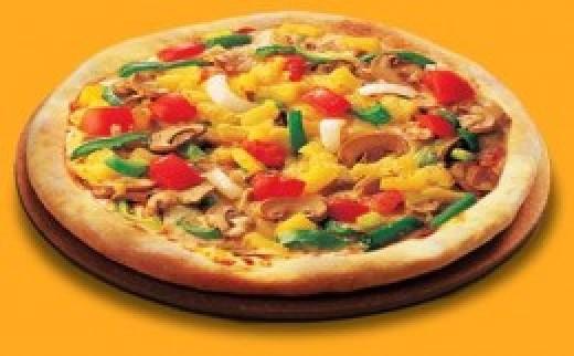 Flatbread Vegetarian Pizza