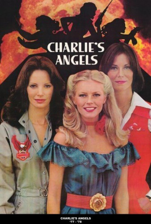 Second season poster of Charlie's Angles with Cheryl Ladd