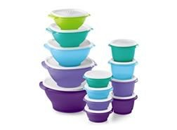 Tupperware's Servalier Nesting Bowl Set