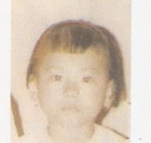 Liza at 3 yrs. old