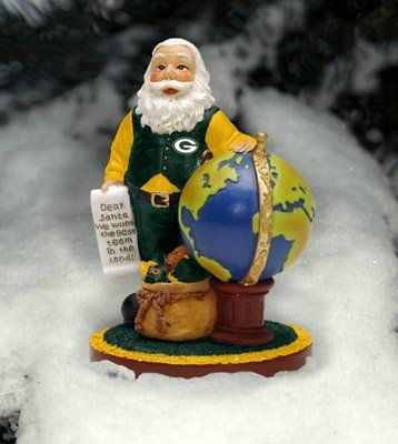 Green Bay Packers Special Delivery Santa