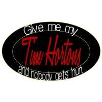 Tim Horton Bumper Sticker Slogan