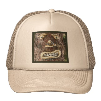 Angry Face Tree Hat Sandyspider on Zazzle