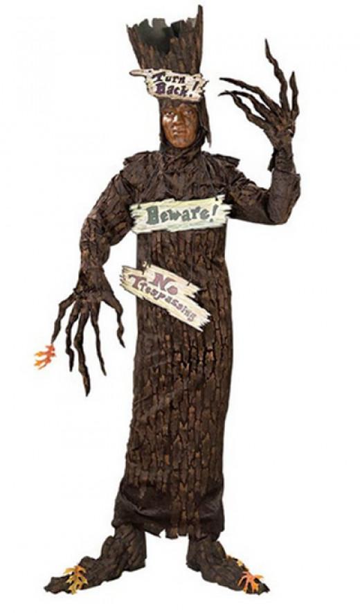 Spirit Haunted Tree Unisex Costume on Amazon