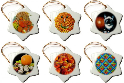 Pumpkin Ornaments
