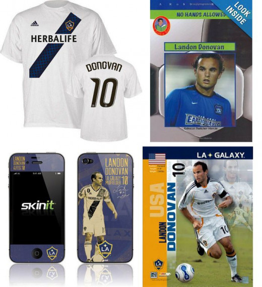 Landon Donovan Products on Amazon