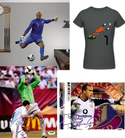 Tim Howard Soccer Memorabilia on Amazon