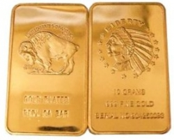 American Buffalo Gold Bars