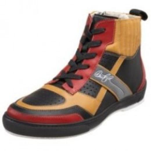 Donald J Pliner Men's Curtis Nappa Hi-Top Sneaker