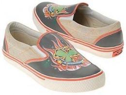 Christian Audigier Straggler Slip On Shoes Mens