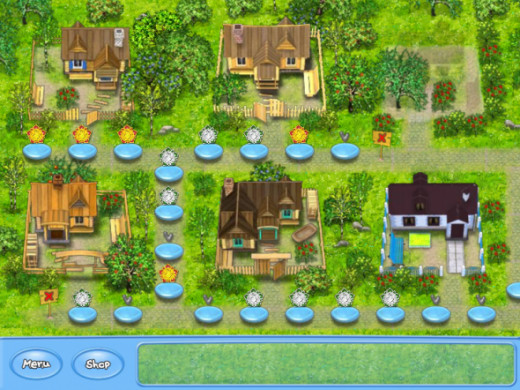 Farm Frenzy Town Overview