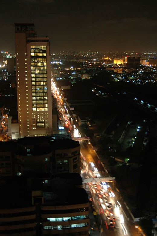 One of the most iconic buildings in Karachi is the MCB Tower shown in this photo by Mohsin Hassan.