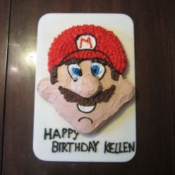 How to Make a Mario Birthday Cake