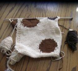intarsia knitting example