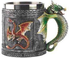 Royal Dragon Mug Serpent Medieval Collectible Stein
