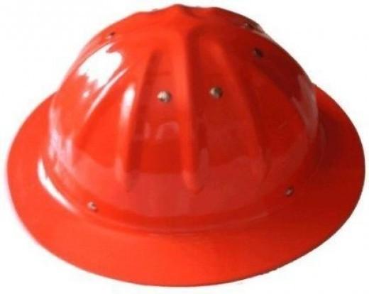 Skull Bucket Full Brim Aluminum Hard Hats