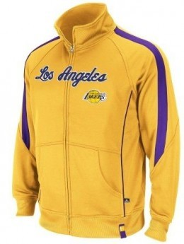 Adidas Los Angeles Lakers On-Court Warmup Jacket