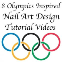 Olympics Inspired Nail Art Manicure Tutorials: London Olympics 2012