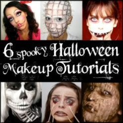 DIY Halloween Makeup Tutorials: Spooky Special Effects Makeup Tricks & Techniques!