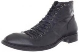 Jo Ghost Men's 1838 Indio Calf Nero Lavato Boot
