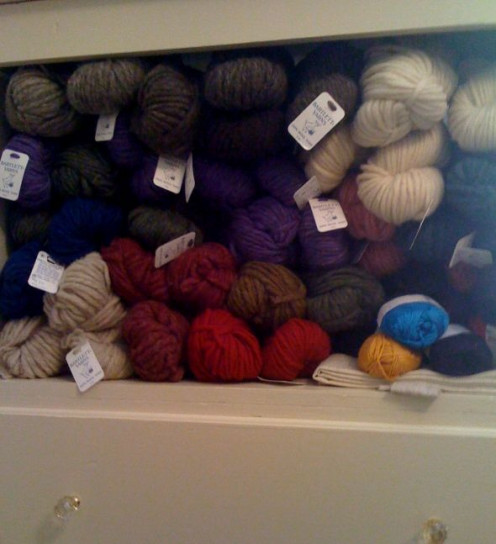 new yarn from Bartlett Yarns