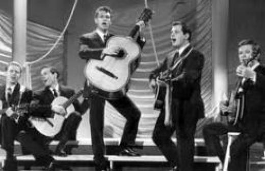 The Highwaymen performing