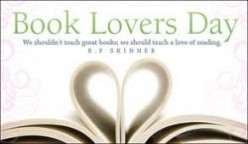August 9th was Book Lovers Day