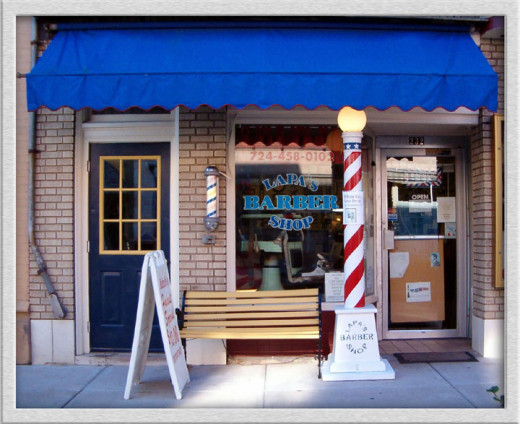 A barbershop