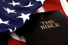 the flag and the Bible