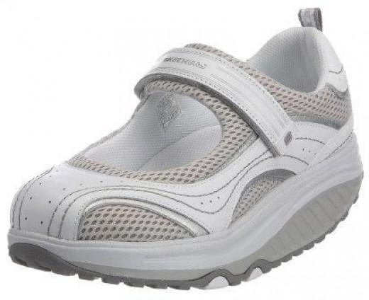Skechers Women's Shape Ups - Sleek Fit Fitness Mary Jane Sneaker