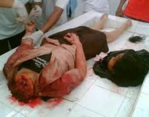 Christians are beheaded in some countries