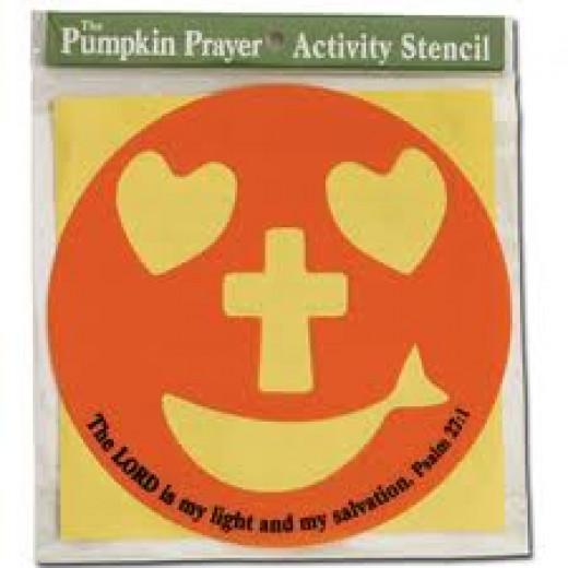 The Pumpkin Prayer Pumpkin