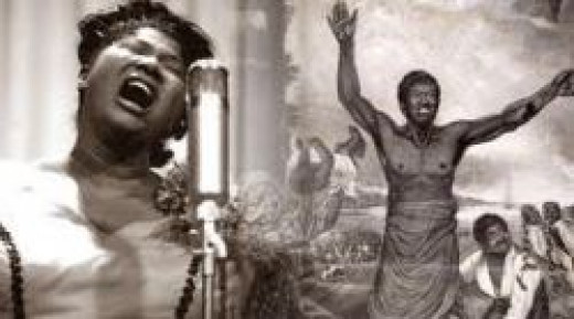 Mahaliah Jackson sings spirituals