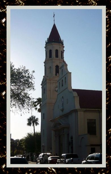 The Cathedral Basilica; St. Augustine, FloridaPhoto from my visit.