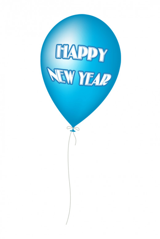 Happy New Year Balloon Clip Art Free