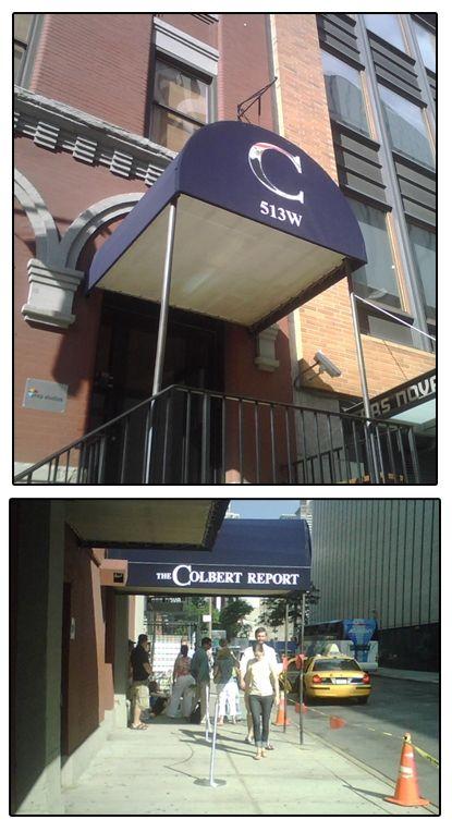 The Colbert Report - Studio - NYC