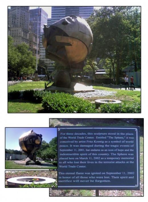 The Sphere - September 11th Memorial