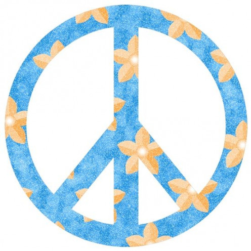 Peace Sign Clip Art Flowers