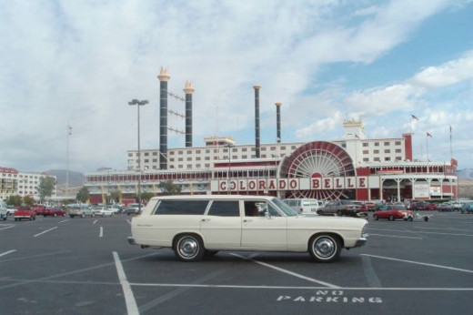 Laughlin, Nevada and the station wagon