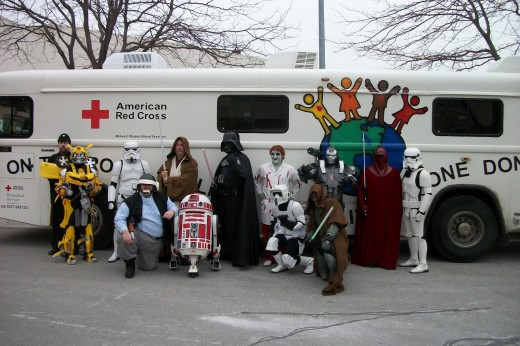501st Legion helps with blood drive via http://journeyofgeek.blogspot.com/